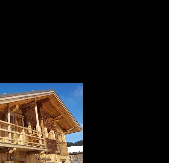 Construction de chalets neufs vieux bois