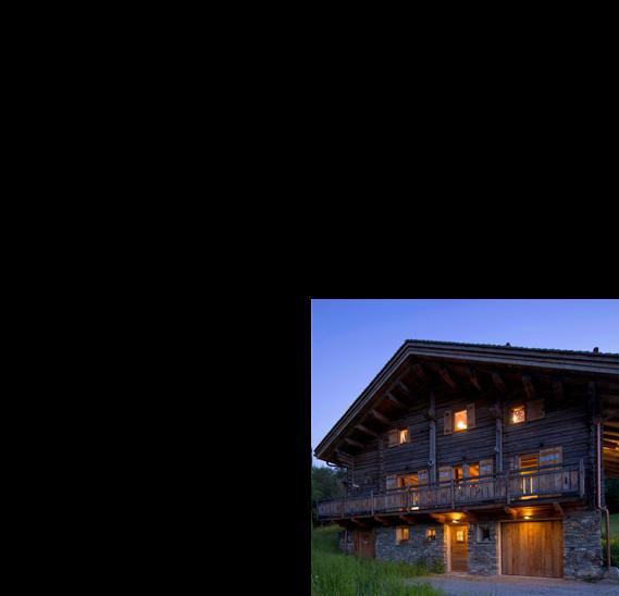 Rénovation de chalets vieux bois